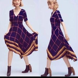 Anthropologie HD in Paris dress asymmetrical hem